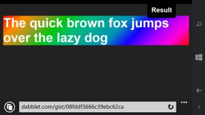 capture d'écran sur Windows Phone 8.1